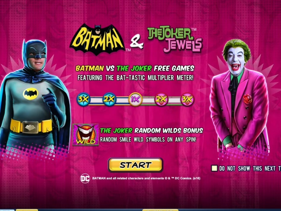 Batman & The Joker Jewels slot